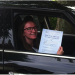Suzanne passes her driving test